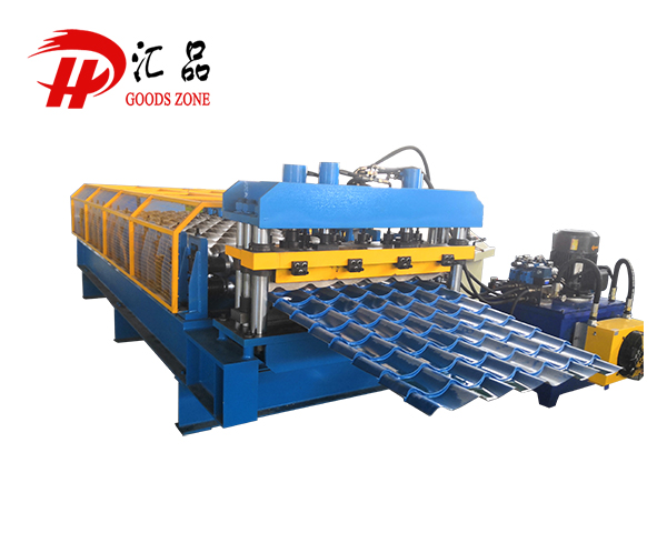 Glazed Tile Steel Roof Panel Roll Forming Machine