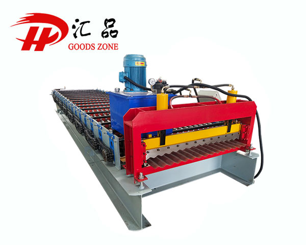 Metalplas Corrugated Roofing Sheet Forming Machine