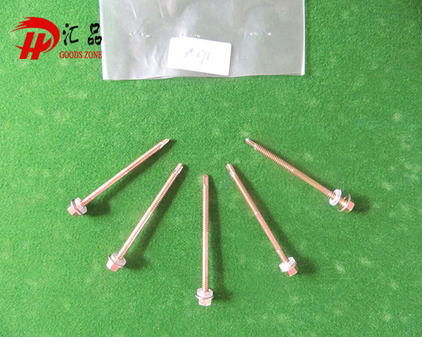 EPDM Washer Head Roofing Screw Self Drilling Tapping Screw
