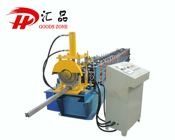 Color Coated Steel Light Gauge Steel C U Truss Roll Forming Machine