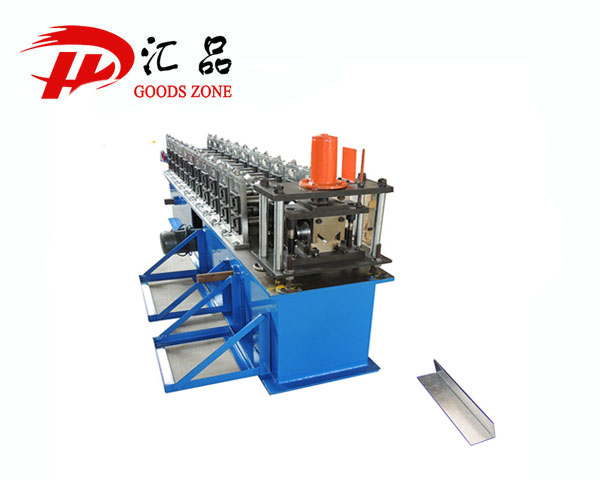 Indonesia Tanpa Klip Metal Channel Profile Cold Roll Forming Machine
