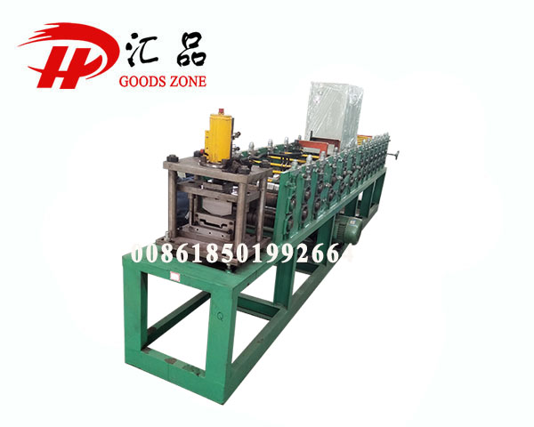 Zinc Coated Decorated Steel Duraspandrel Plain Purlin Making Machine