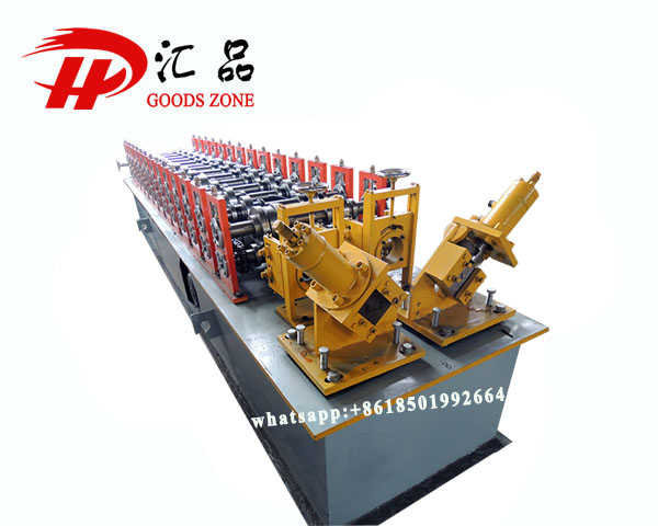 Double Furring Metal Trusses Ceiling Panels Purlin Forming Rolling Machine