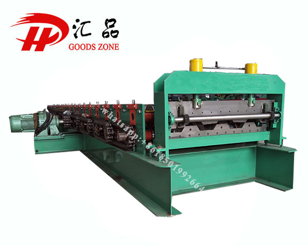 Roofing Deck Sheet Panel Forming Machine Steel Roof And
