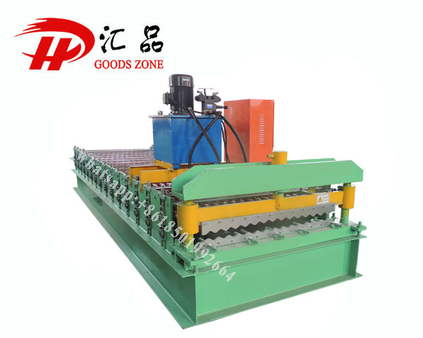 High Tensile Steel Galvalume Corrugation Sheets Forming Machine