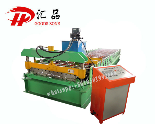 5 Peaks Industrial Roofing PPGL Sheets Roll Forming Machine
