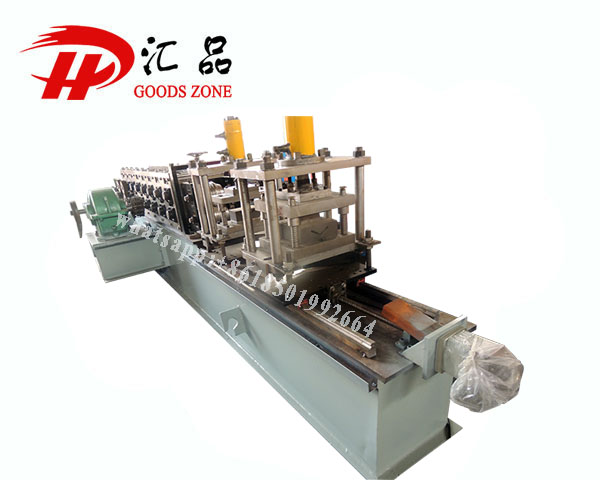 Galvanised Steel Triangle Panels Roll Forming Machine For Furring