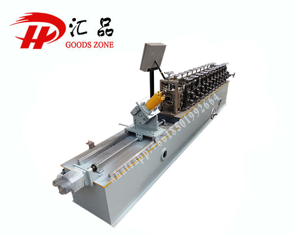 Cold Rolled CU Profile Channel Sheet Manufacturing Machine with Automatic Cutting