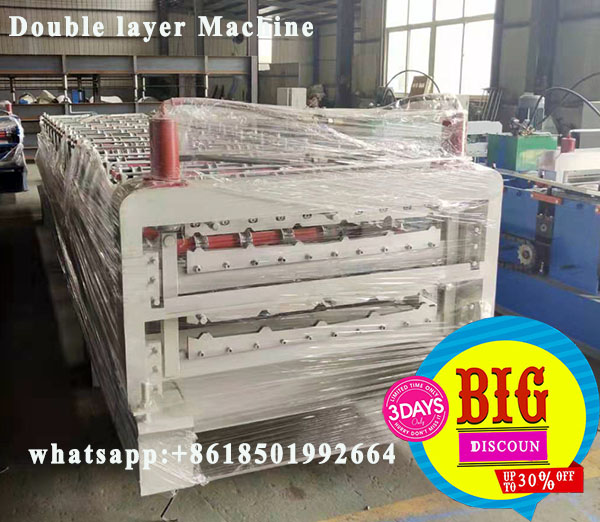 Double Layer TrapezoidalSheets Forming Machine