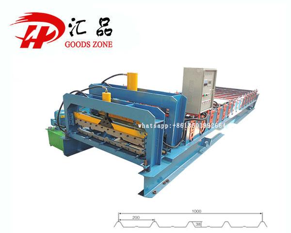 1000 Model Tilespan Elite R Span Roofing Sheet Roll