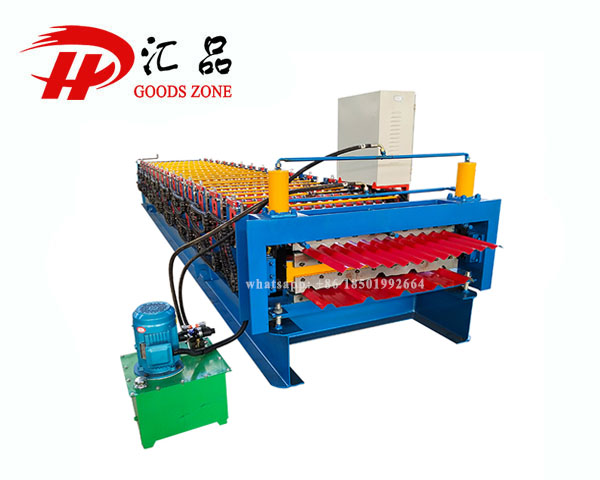 Long Span And Corrugated Iron Roofing Sheets Roll Forming Machine For Chile