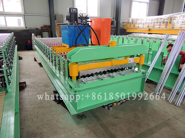 High Tensile Steel Galvalume Corrugation Sheets Forming Machine.JPG