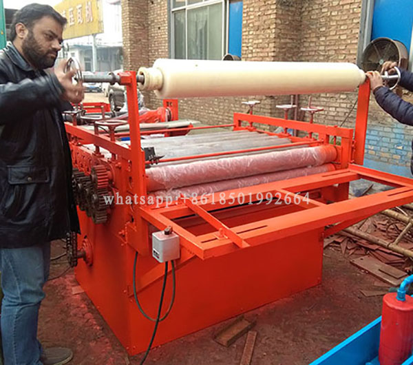 Plastic Film Laminating Machine For Steel Roofing Plate.jpg